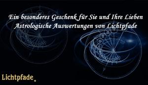 Astrologische Auswertungen auf Lichtpfade