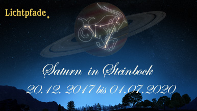Saturn in Steinbock